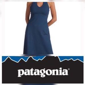 Patagonia Morning Glory, Slim Fit Halter Dress EUC